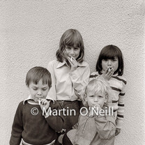 Children with 'cigarette' sweets
