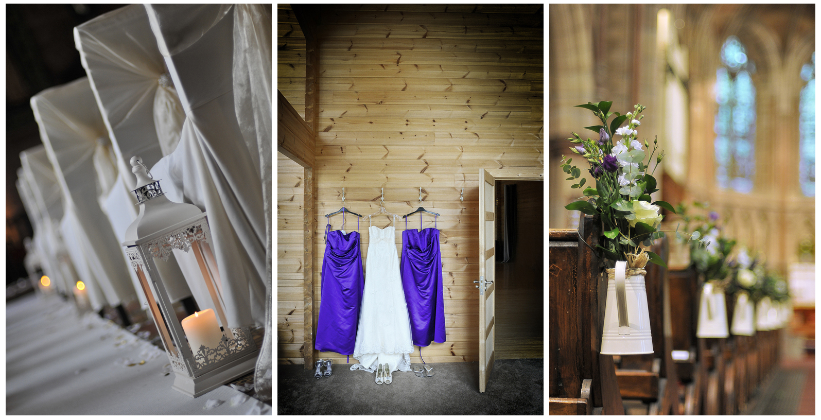 Dresses, lights and flowers