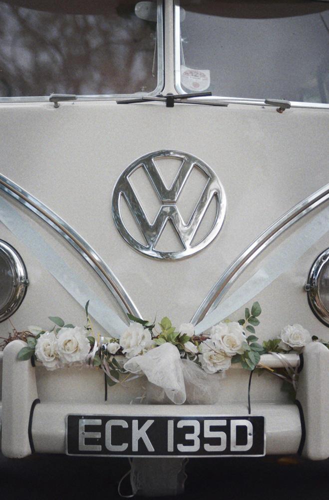 VW, Campervan, wedding