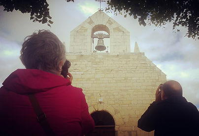 camera lessons at church in France