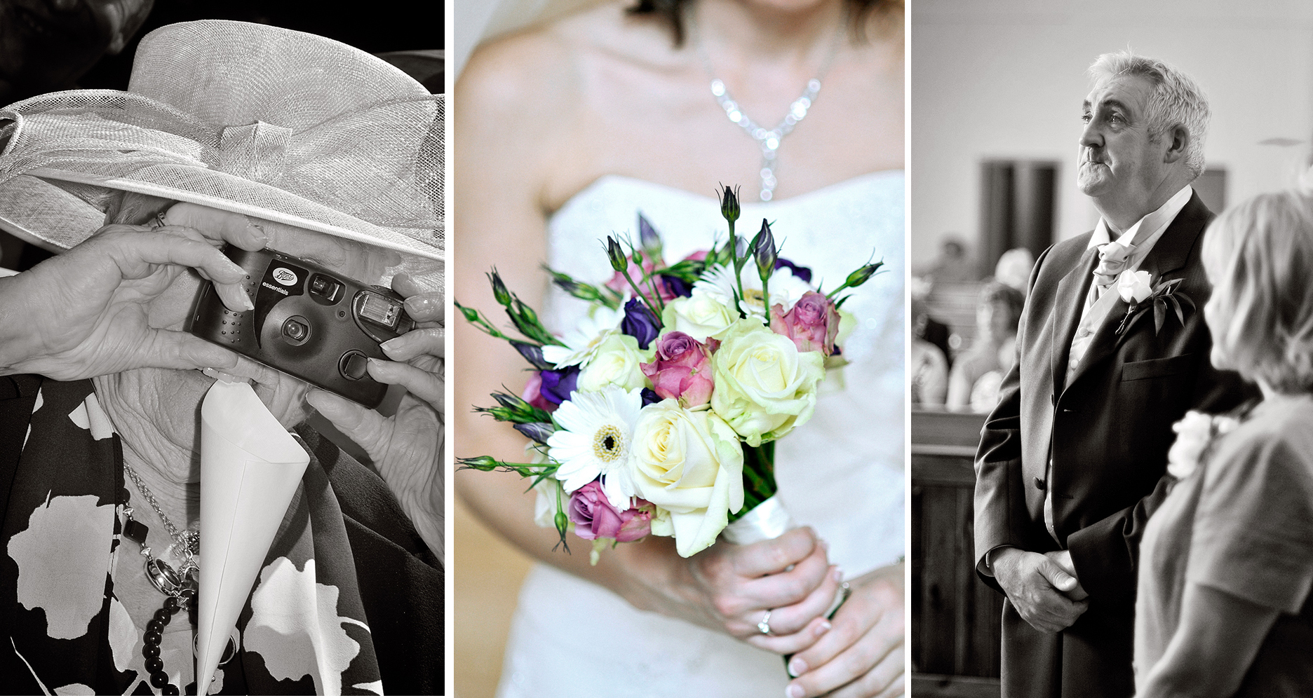 Close-ups from a wedding day