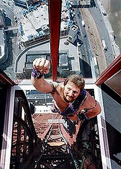 Strongman at Blackpool Tower