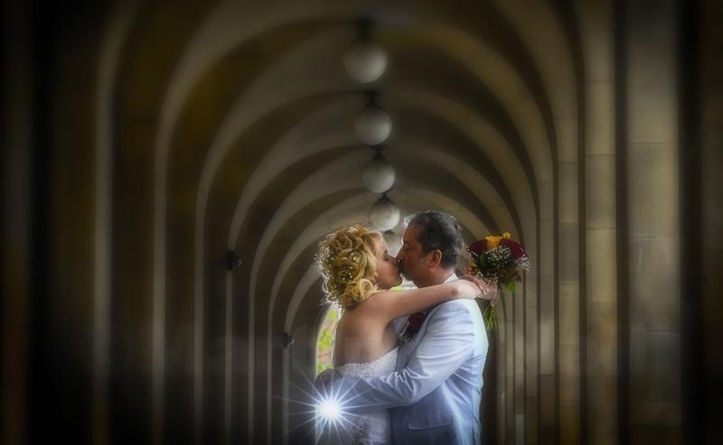 Manchester Town Hall Wedding, bride