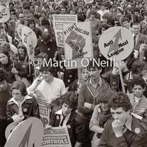 Anti-Nazi Rally, Manchester 1978