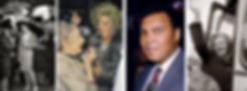 Lady Di, Maggie Thatcher, Mohammed Ali and Bet Lynch