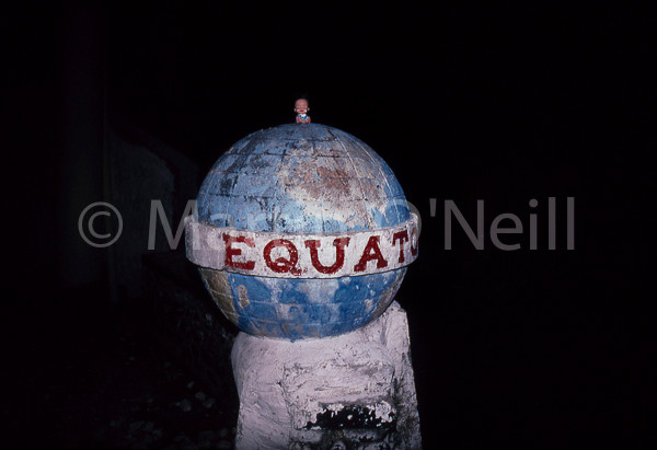 Minnie at Equator
