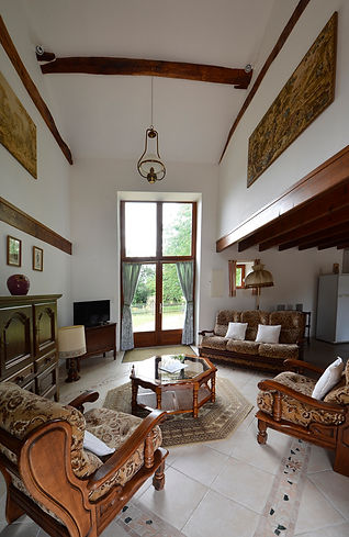 Gite, French home, lounge