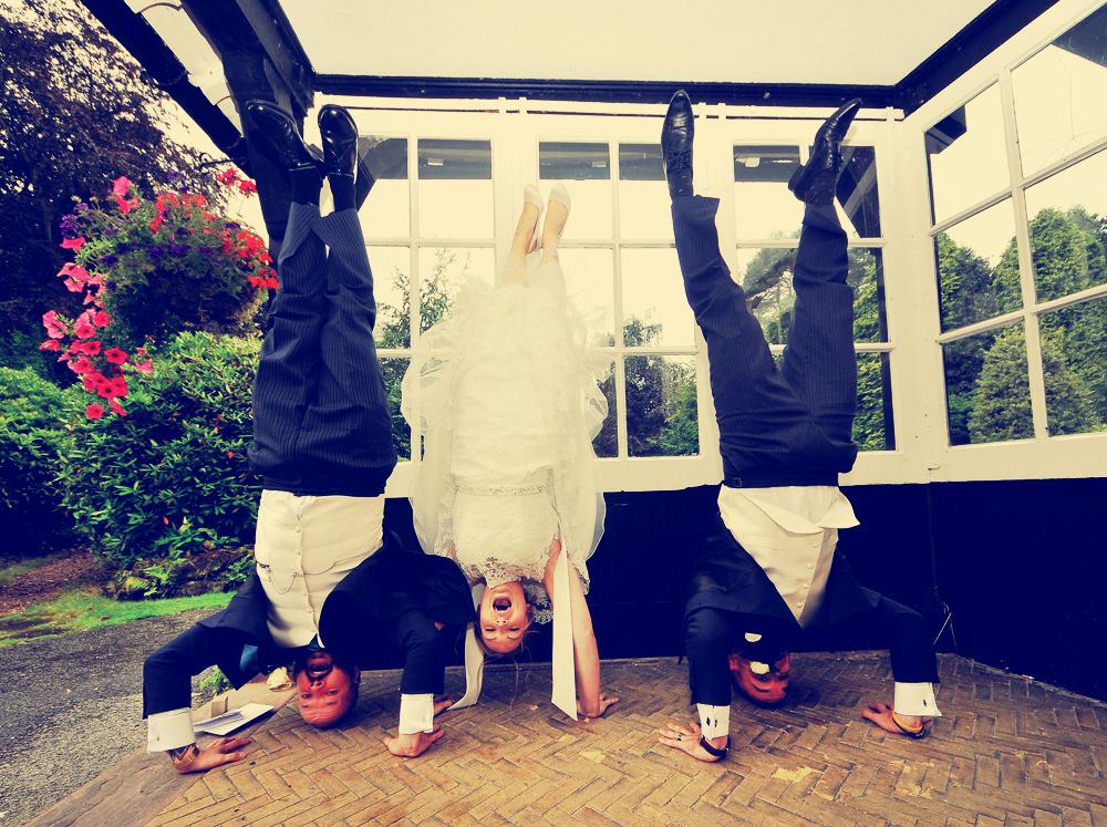 Bride, Groom, Mere Court Hotel