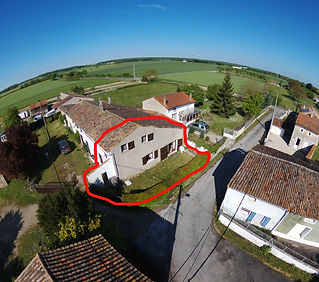 gite in French countryside