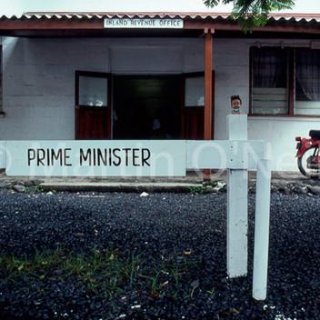 Minnie in Cook Islands
