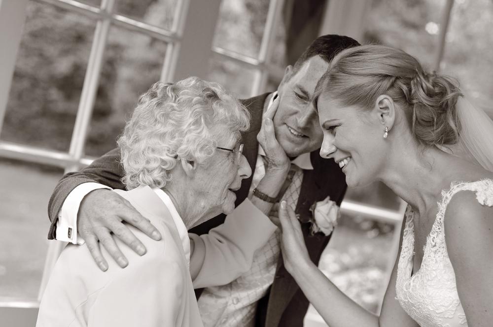 Grandma, Bride, groom, Knutsford