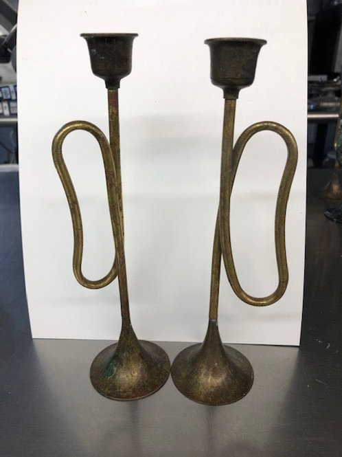 Candle - Trumpet Candlestick Holders
