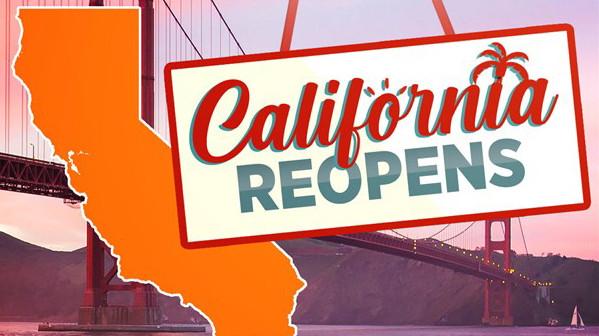 California Reopens