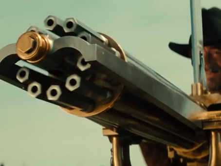 You May Be Able to Dodge a Bullet, But Not a Gatling Gun