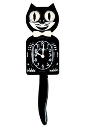 Feliz the Cat clock