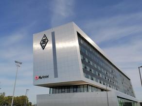 plan2plan - zu Besuch im H4 Hotel Mönchengladbach im Borussia-Park