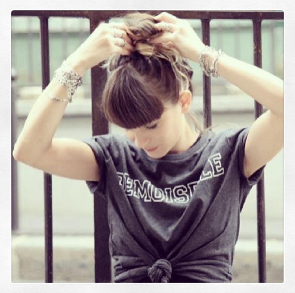Le tee shirt Demoiselle