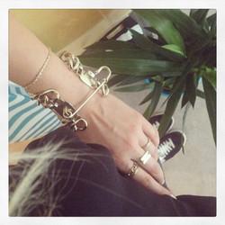 Bracelet collection 90's