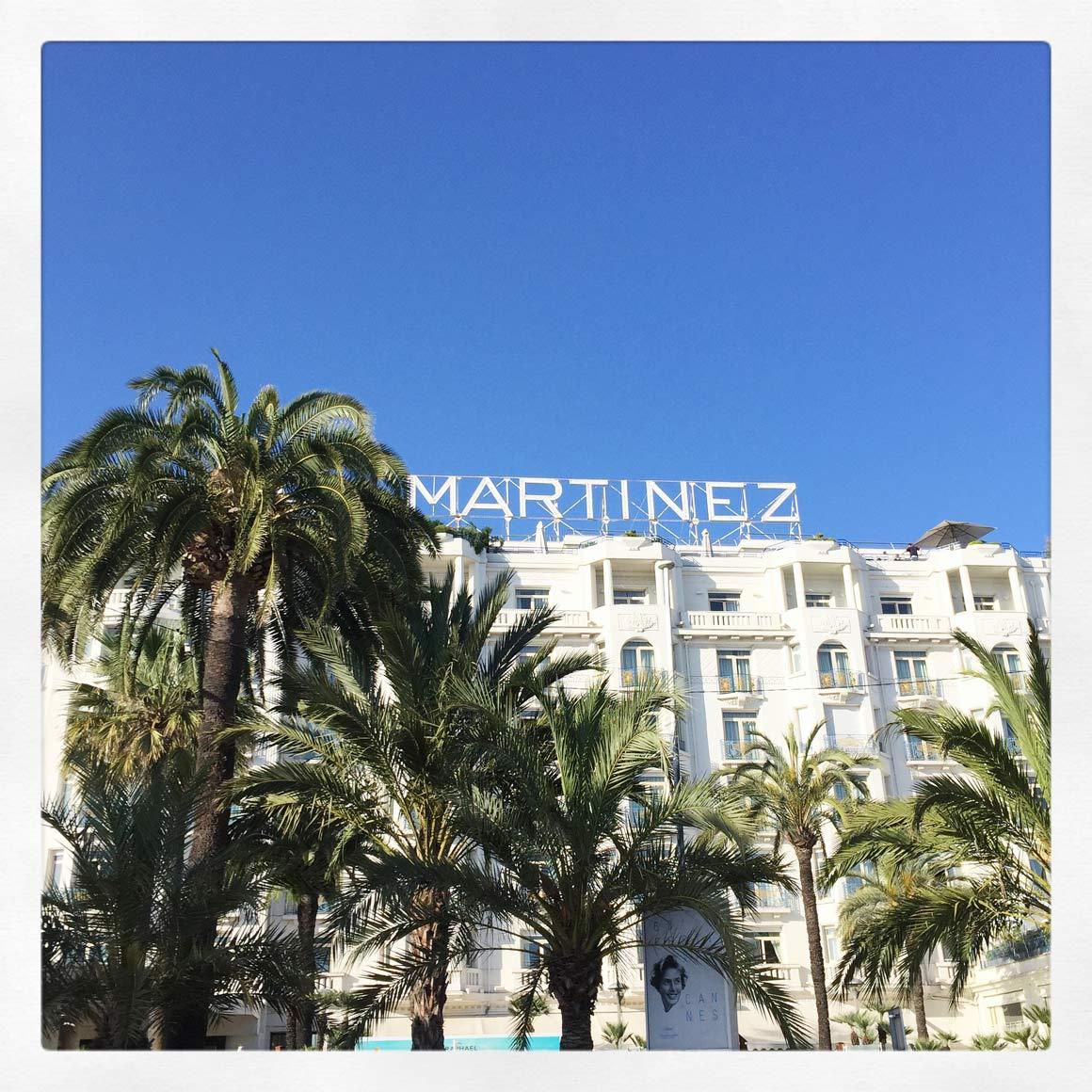Reebok - Cannes, L'hôtel Martinez