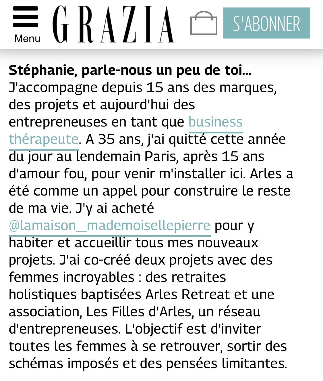 Grazia.fr juillet 2019