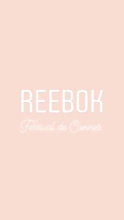 Reebok x Ma Demoiselle Pierre/Cannes
