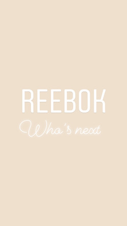 Reebok - Who's Next