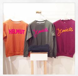 Collection de sweats Demoiselle