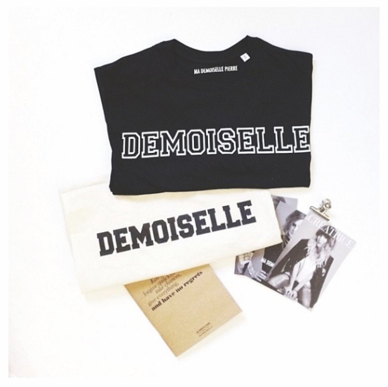 Tee-shirt, tote bag & cartes postale