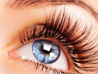 Cílios somente protegem o olho quando têm o comprimento ideal