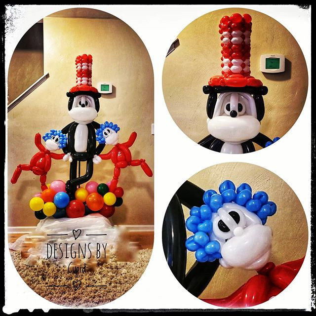 Dr. Suess Balloon Sculpture