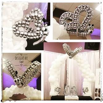 Butterfly Arch 🎈🎈🎈 #balloonsculpture