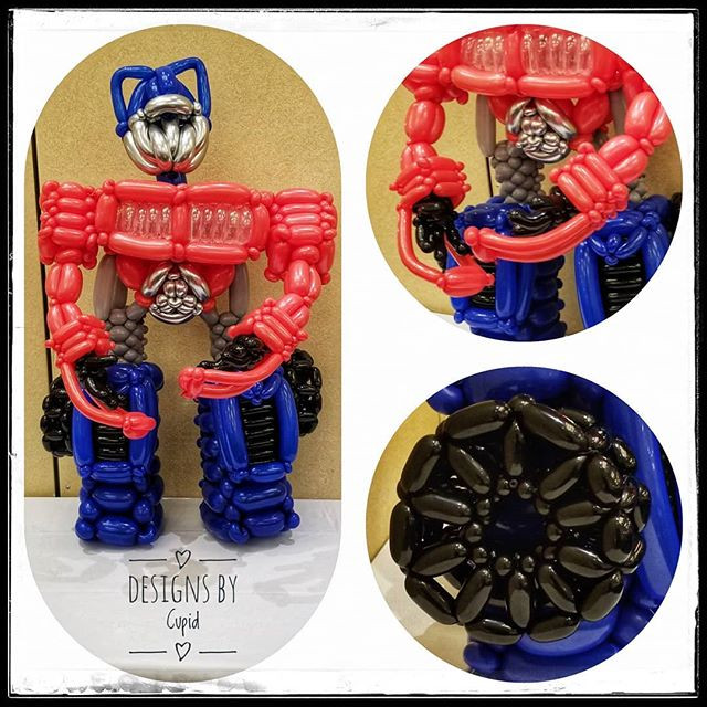 Optimus Prime Balloon Sculpture