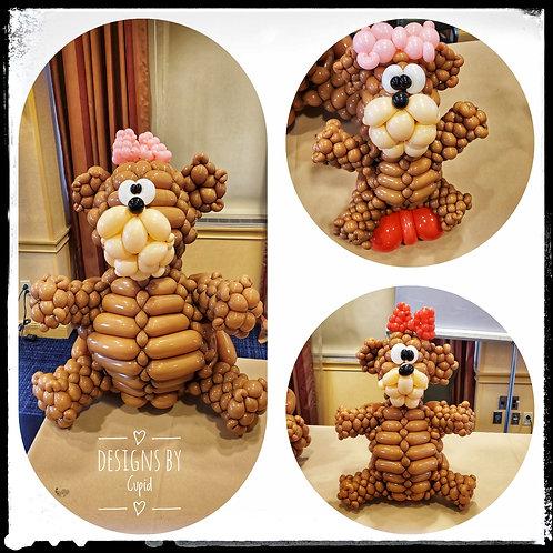 Woven Bear Sculpture