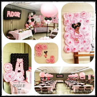 Baby showers are THE most fun to decorat