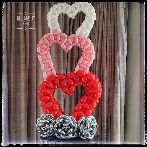 Wonky Heart Wall