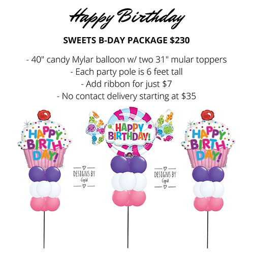 Yard Art - Cupcake B-Day Package