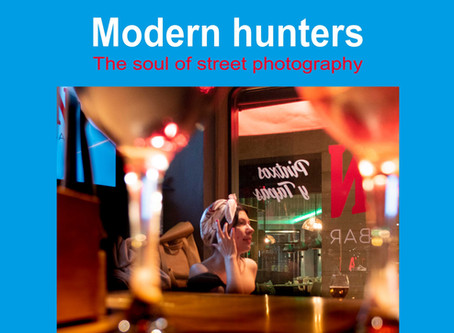 Modern Hunters. Zine on the soul of street photography
