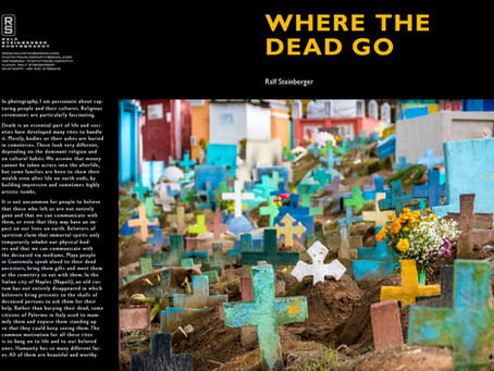 Where the dead go. Photo zine on how societies deal with death
