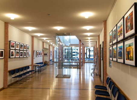 14.9.20: End of photo exhibition at the Court House in Wolfratshausen (near Munich)