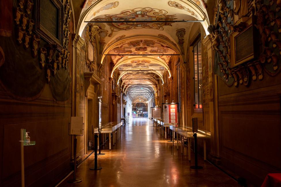 Archiginnasio museum/university in Bologna
