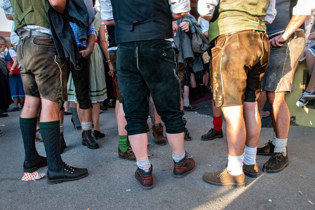 Men in Lederhosen