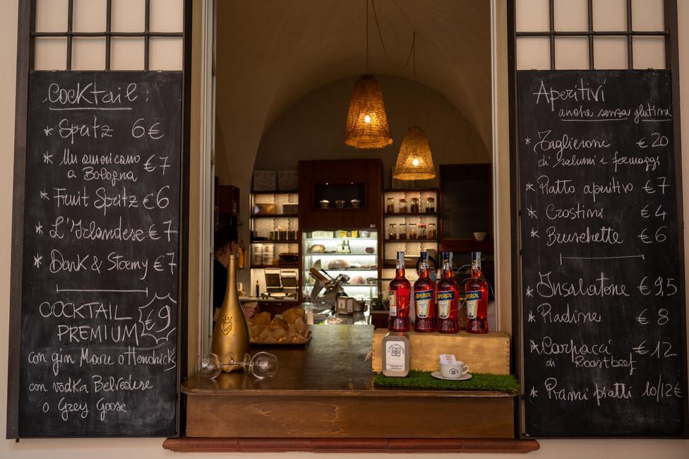 Aperol Spritz aperitivo bar in Bologna