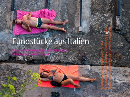 Kunst-Ausstellung: Fundstücke aus Italien