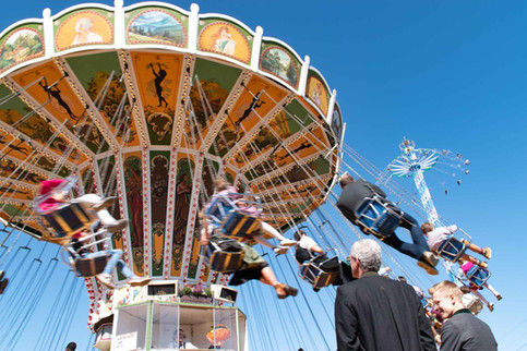 Carousels still exist, but most people are looking for faster excitement