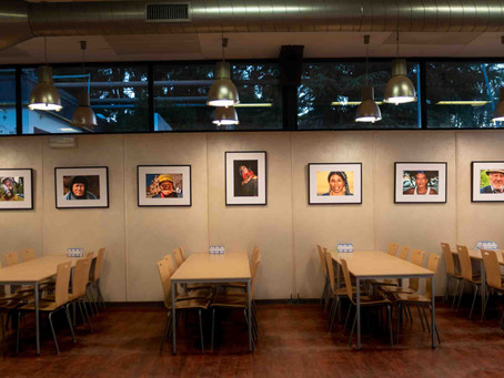 Photo exhibition on STREET PORTRAITS at the Joint Research Centre (JRC) in Ispra, Italy