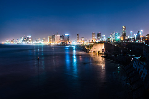 Tel-Aviv coast line