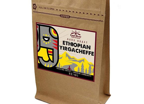 Ethiopian Yirgacheffe Roast Coffee (1 lb.)