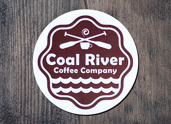 Coal River Coffee Sticker
