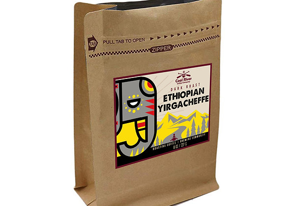 Ethiopian Yirgacheffe Roast Coffee (1/2 lb.)