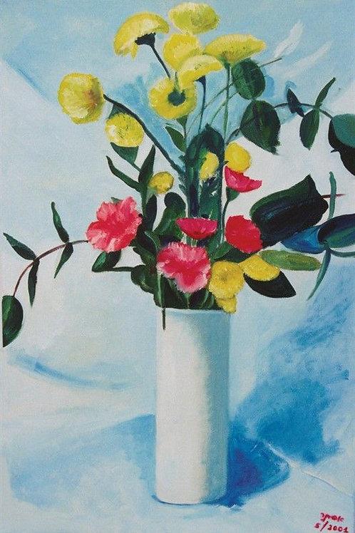 Flower Painting- Flower Vase